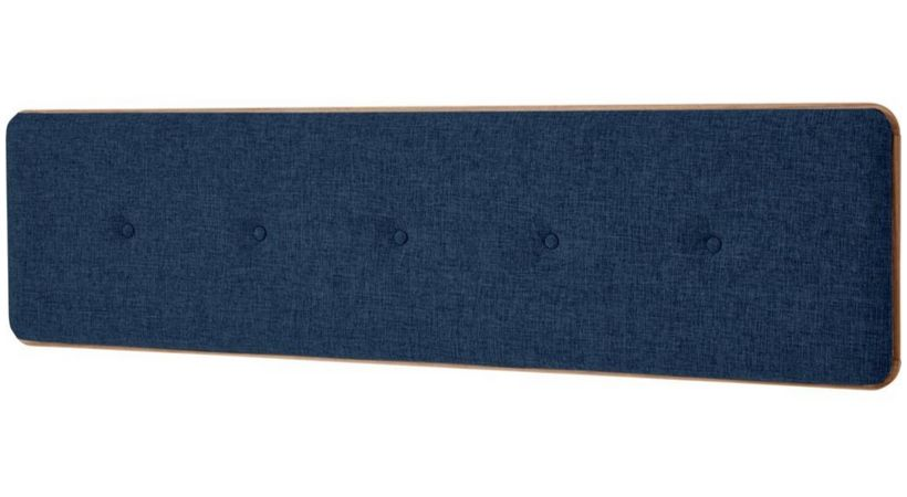 Blå sengegavl