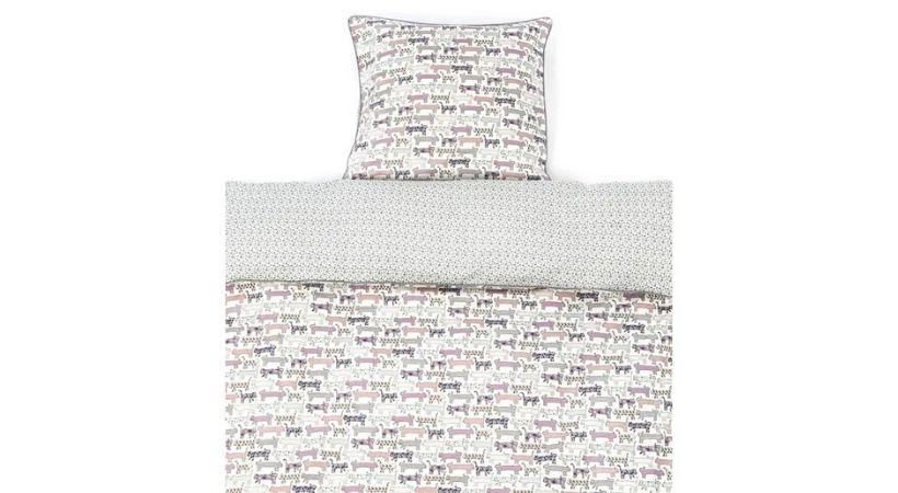Hvidt Smallstuff baby-sengetøj