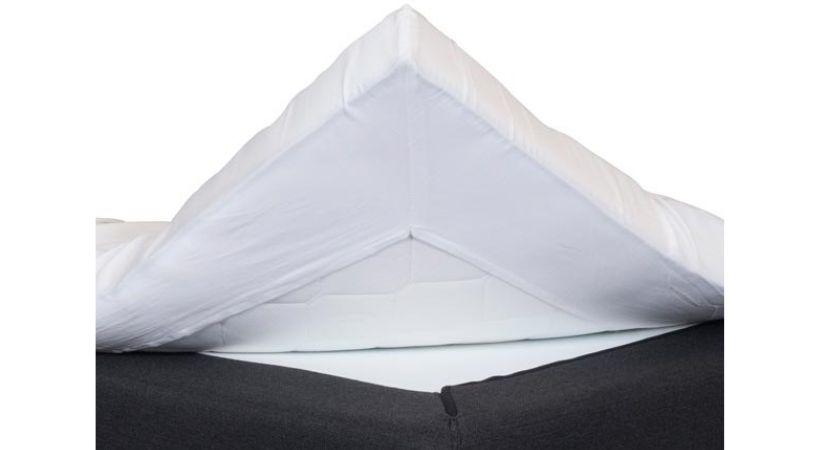 Kuvertlagen i bomuldssatin
