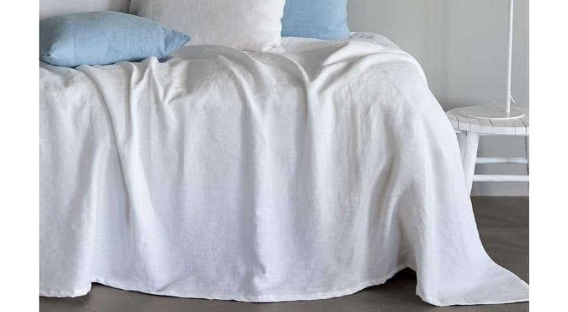 Hør sengetæppe - Luksus