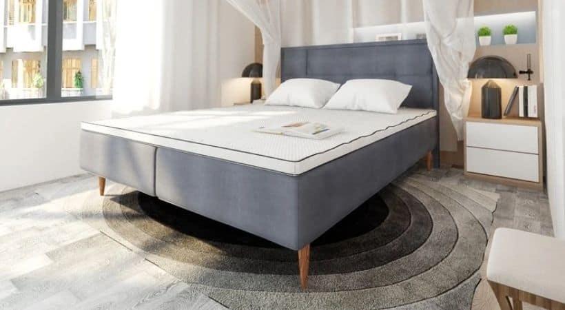 Norland Luksus 140x200 - 3/4-seng i høj kvalitet