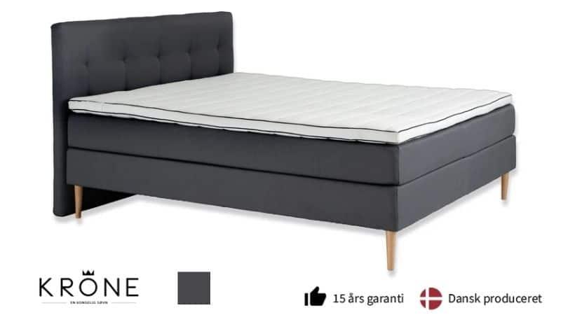 Krone Signatur - 120x200 seng med gavl (tilkøb)