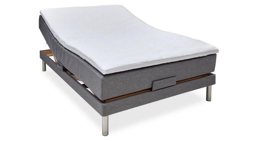 Nocturne Silver 140x200 elevationsseng