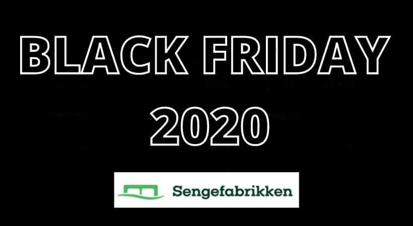 Sengefabrikkens Black Friday tilbud