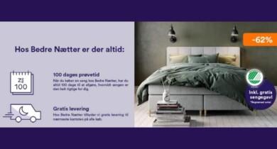 Tilbud og udsalg på senge