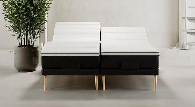 Nordkap - 160x200 seng med madras og elevation