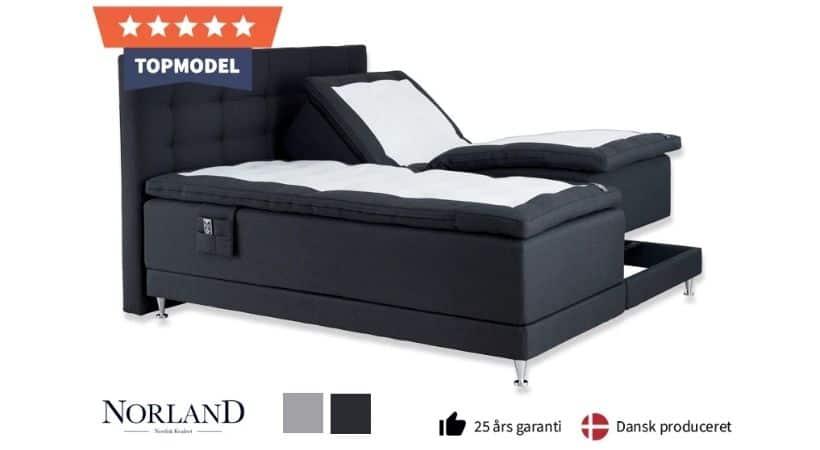 Norland Eksklusiv EL - 180x200 boxseng der kan hæves/sænkes