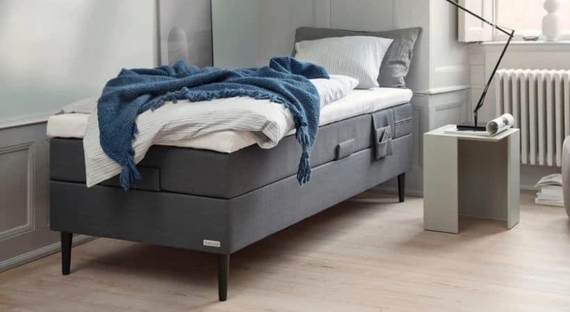 Prestige luksus - 120x200 cm elevationsseng med god topmadras
