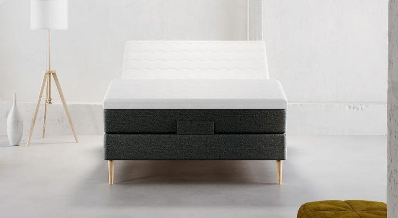 Tromsø - Elektrisk 120x200 centimeter hæve/sænke seng