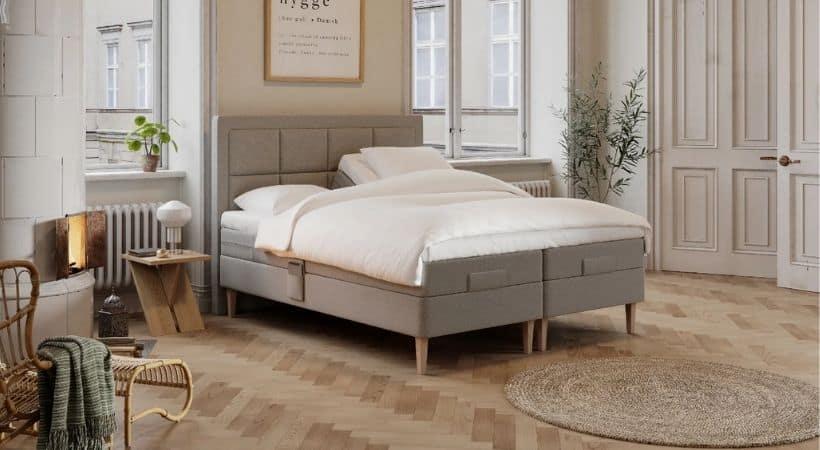 Ragna - Luksus 180x200 cm elevationsseng til en fornuftig pris