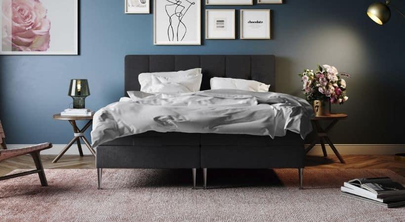 Senses - 180x200 cm elevationsseng med gratis sengegavl